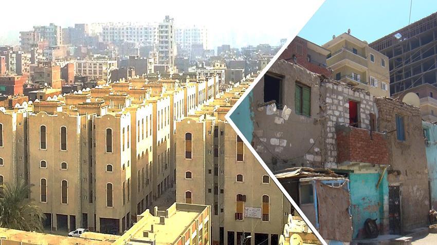 تطوير منطقة عشش محفوظ بمحافظة المنيا
