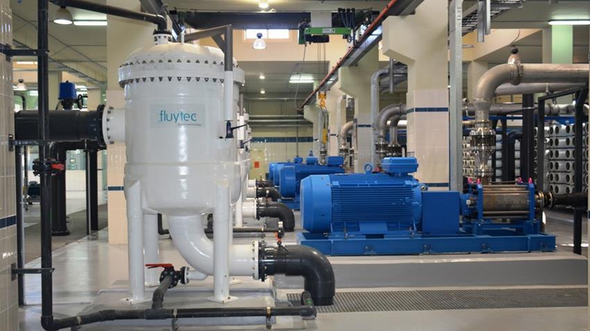محطة تحلية مياه البحر بمدينة السلوم