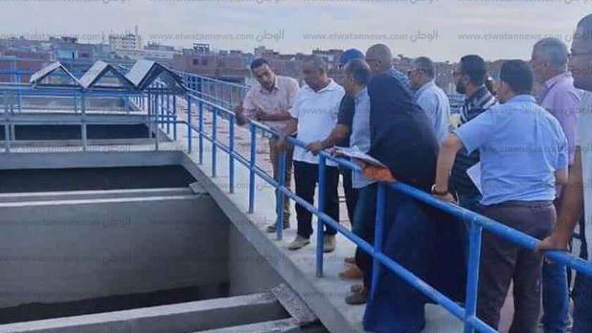 محطة مياه الرحمانية