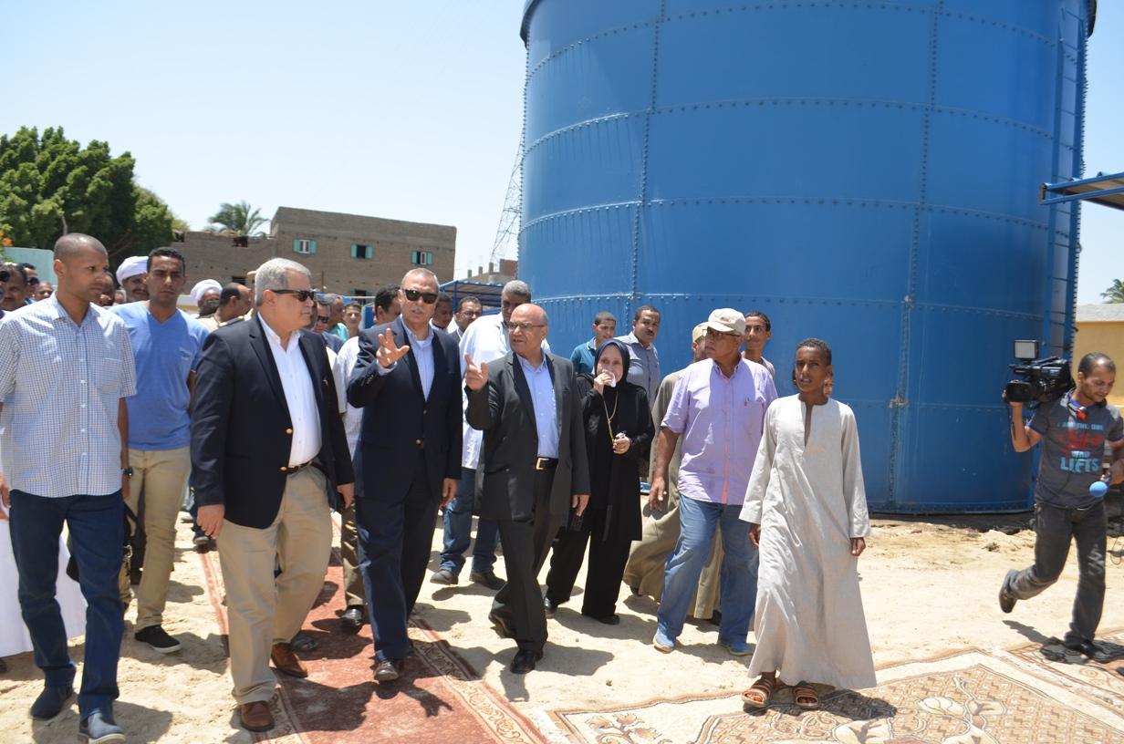 محطة رفع مياه قرية الكلاحين