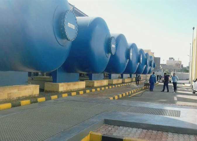 محطة تحلية مياه البحر شرق بورسعيد