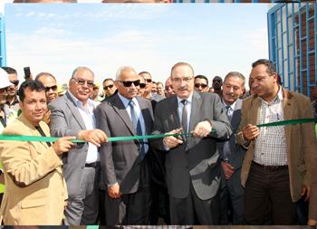 مشروع الصرف الصحي بقرية بني عفان