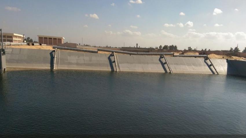 محطة معالجة مياه الصرف الصحي بقويسنا