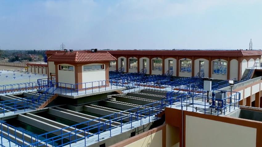 محطة ترشيح مياه مدينة الإسماعيلية الجديدة