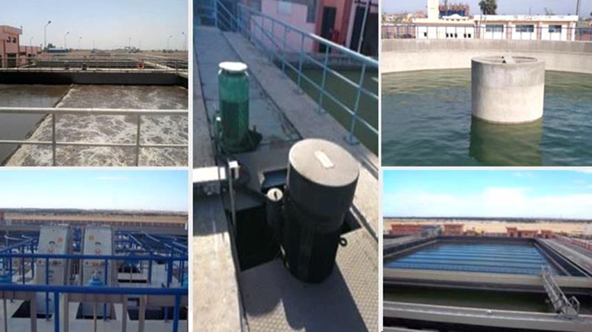 إنشاء 11 مشروع صرف صحي بمحافظة البحيرة