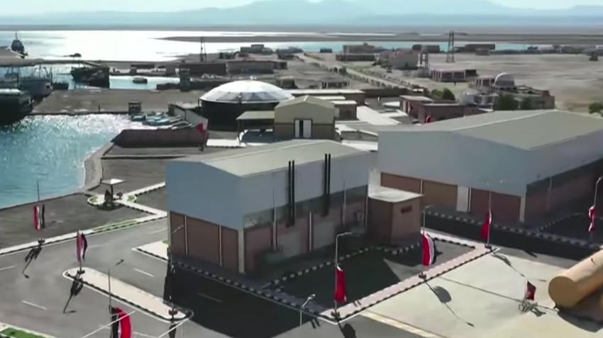محطة تحلية مياه البحر لمنطقة برنيس