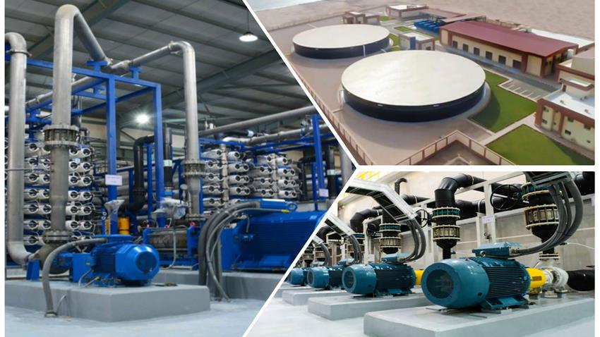 إنشاء محطة معالجة مياه الصرف الصحي بمدينة الطور