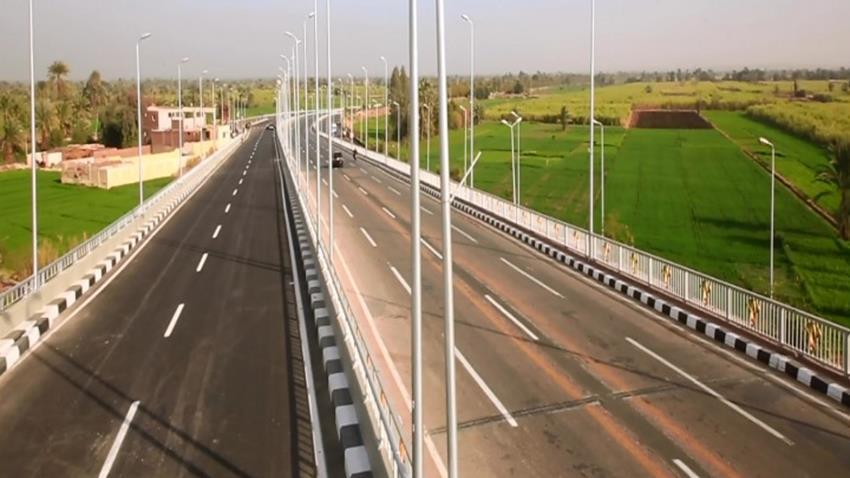 تطوير كوبري مطار الأقصر العلوي