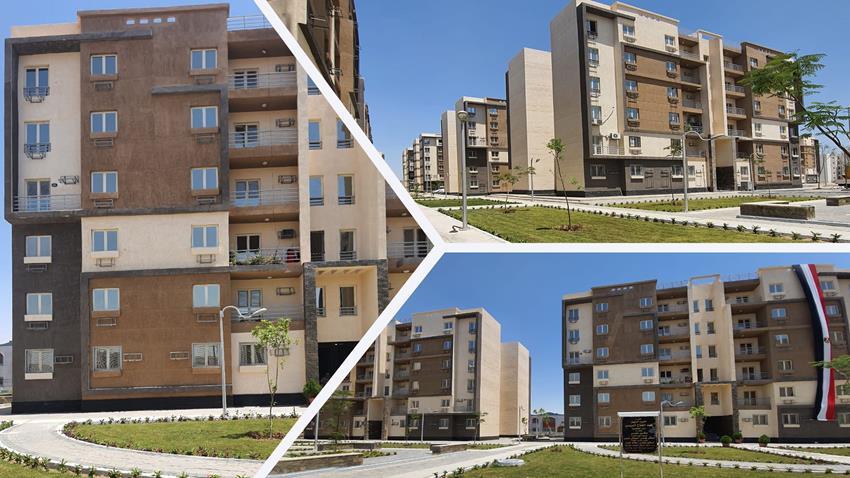 المرحلة الأولي من الإسكان المتوسط - سكن مصر