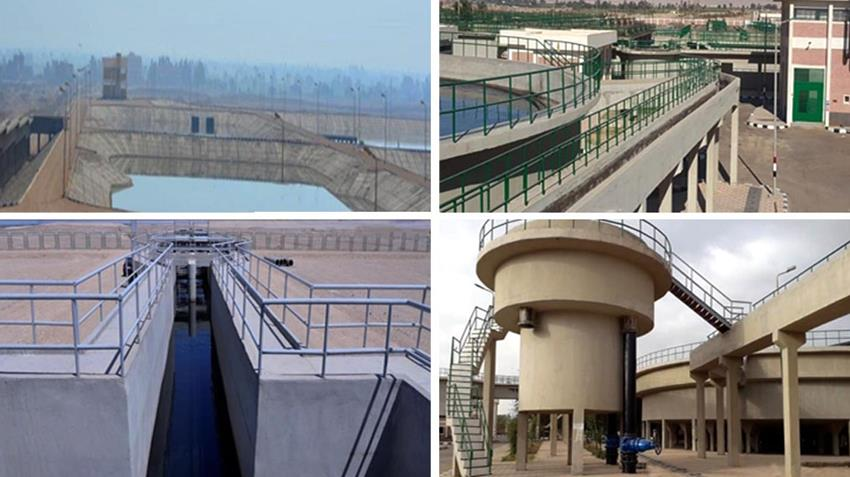 إنشاء 17 محطة معالجة صرف صحي بمحافظة قنا