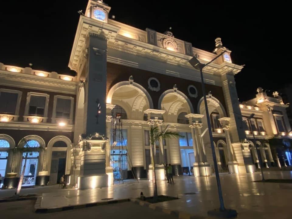 تطوير محطة سكة حديد الإسكندرية