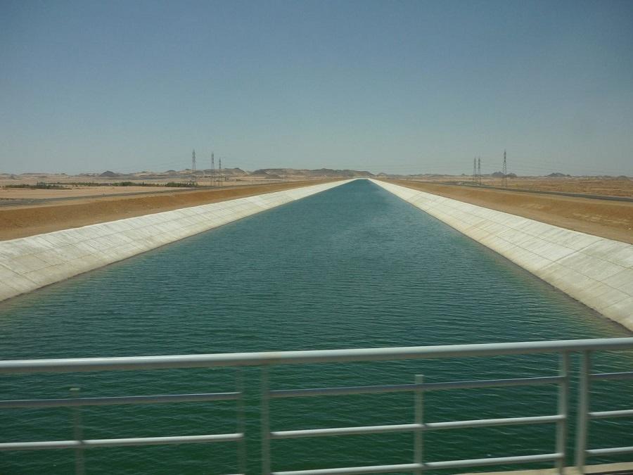 مشروعات تبطين الترع بمحافظة بنى سويف
