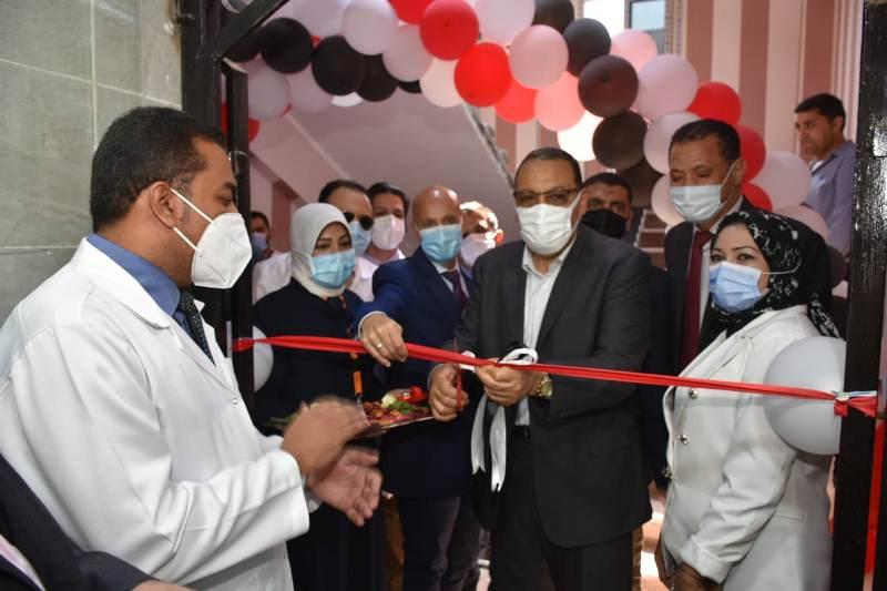 افتتاح قسم جراحة القلب المفتوح بمستشفى الزقازيق العام