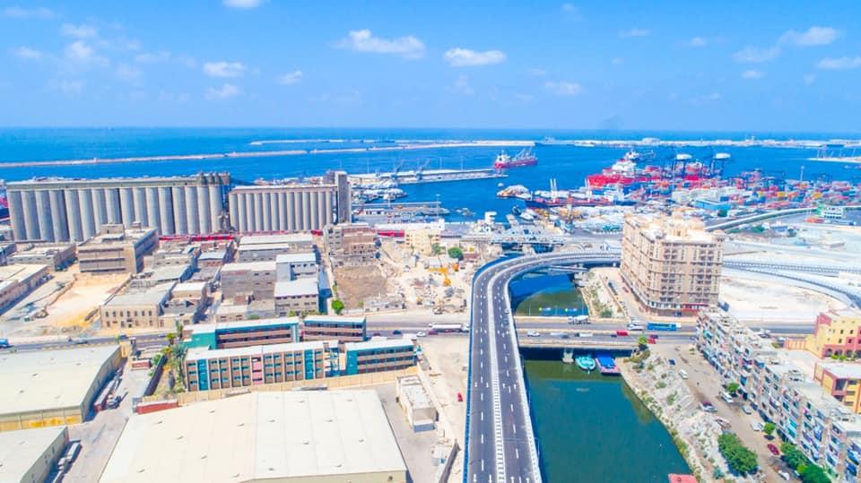 مشروع محور 54 بميناء الإسكندرية