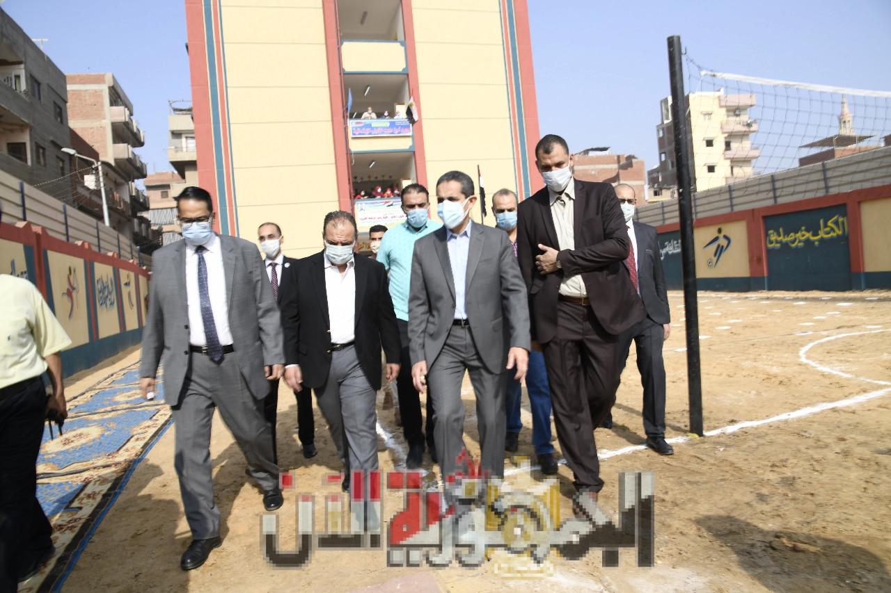 افتتاح مدرسة كفر طرنة للتعليم الأساسي