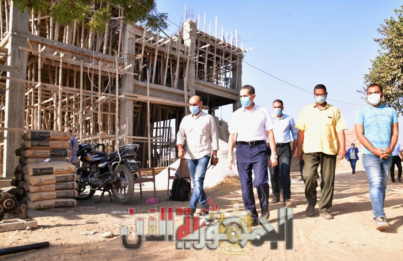 تطوير مدرسة طلبه السايح بقرية كفر الدغايدة  الغربية
