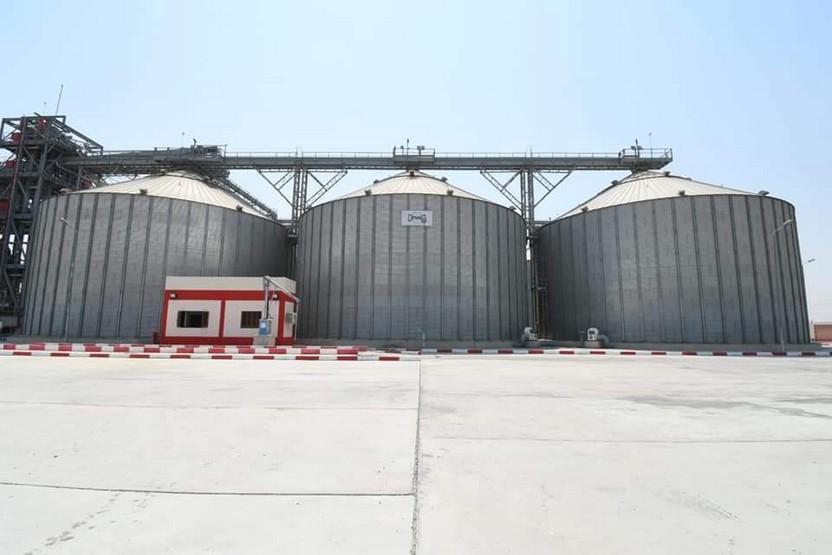 صوامع القمح بمركز أبو صوير