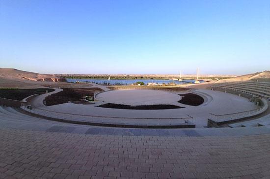 الشريط النهري بمدينة أسوان الجديدة