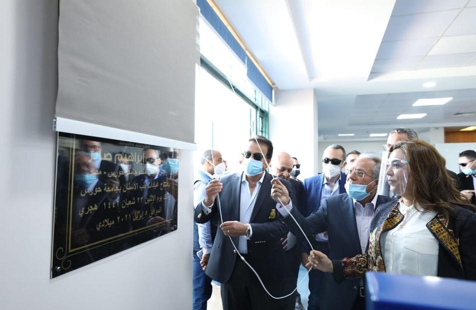 افتتاح منشآت جديدة بجامعة حورس