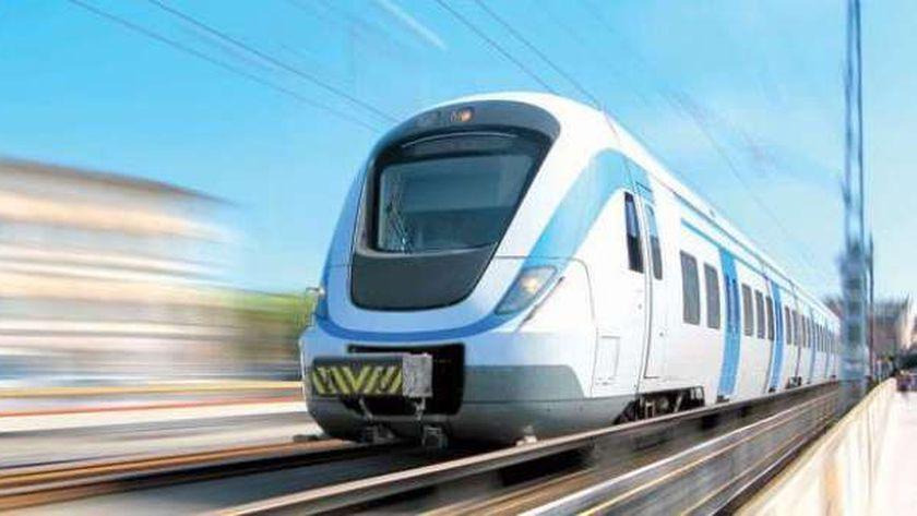 مشروع القطار الكهربائي عدلى منصور - العاصمة الإدارية - العاشر من رمضان