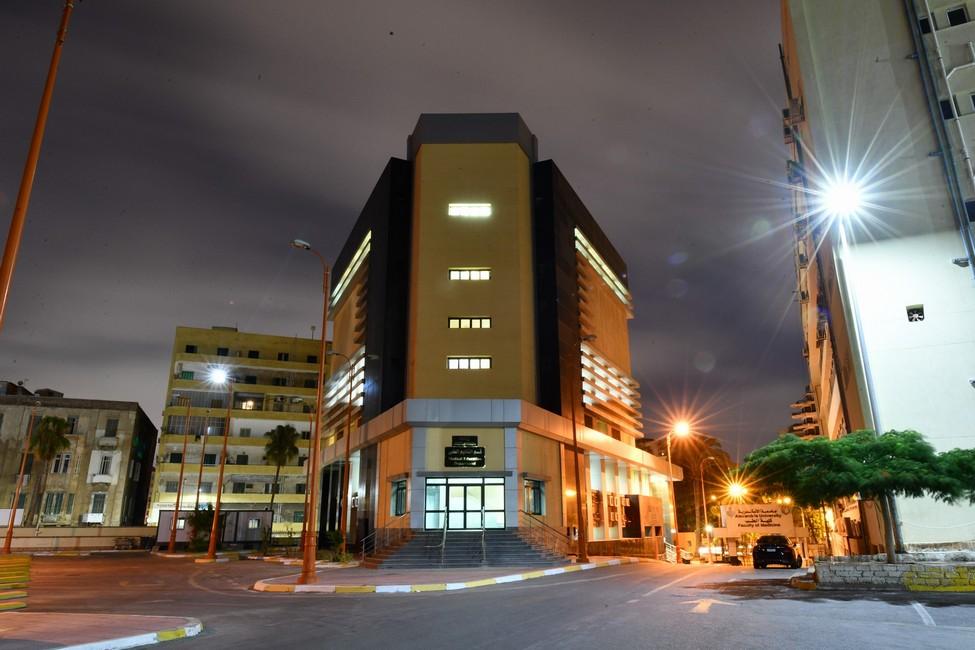 مبنى التدريب بكلية طب جامعة الأسكندرية
