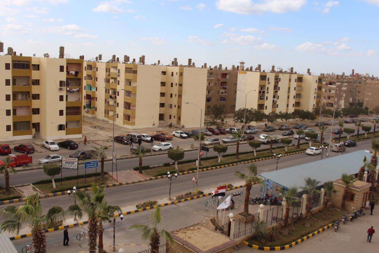 ترفيق أحياء التوسعات السكنية بنى سويف الجديدة