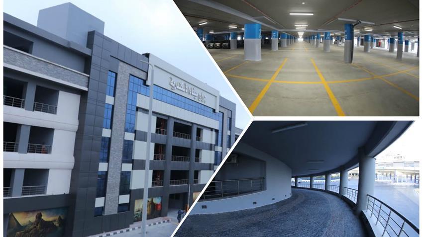 مشروع الجراج متعدد الطوابق ميناء الاسكندرية