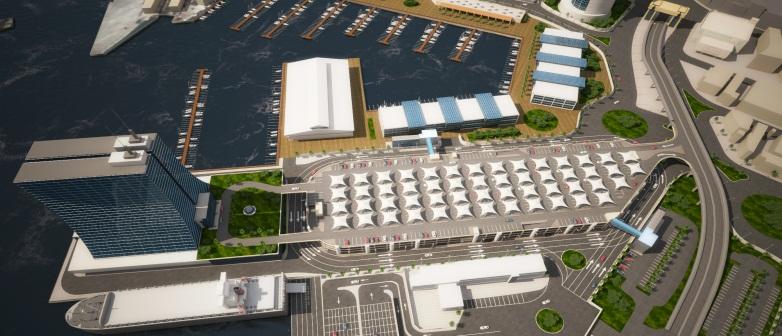 مشروع ميناء المكس الجديد