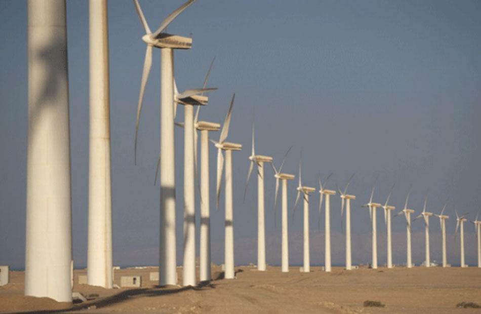 مشروع طاقة رياح بمجمع خليج السويس