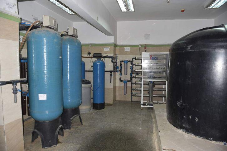 تطوير وحدة الغسيل الكلوي بمستشفي سوهاج الجامعي