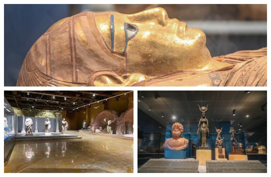متحفي الآثار بمطار القاهرة الدولي