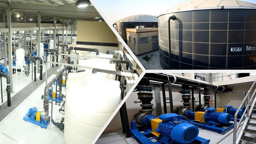 محطة تحلية مياه البحر بمدينة أبو زنيمة