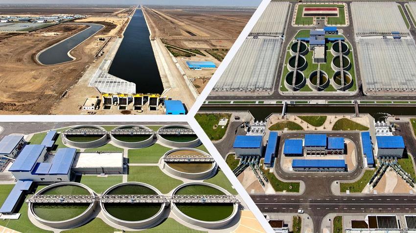 محطة مصرف بحر البقر محافظة بورسعيد