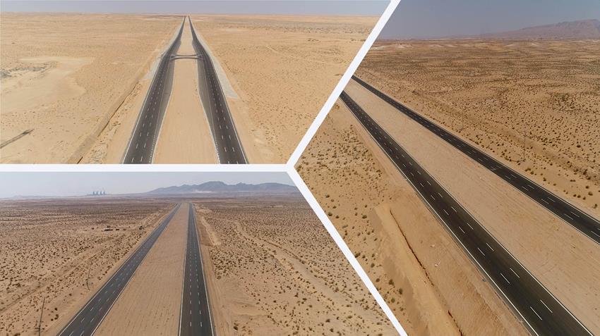 افتتاح طريق الإسماعيلية - العوجة
