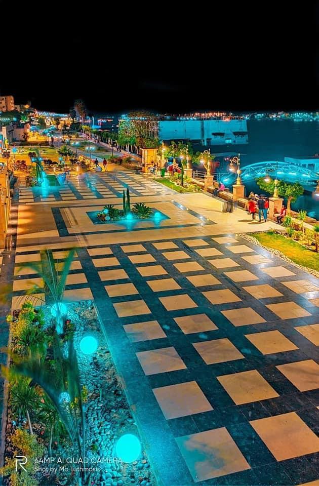 مشروع مرسى الفنادق العائمة على نهر النيل بمحافظة الأقصر