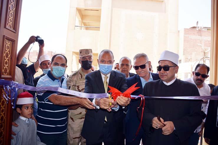 تطوير مسجد فاطمة الزهراء بمدينة كفر شكر