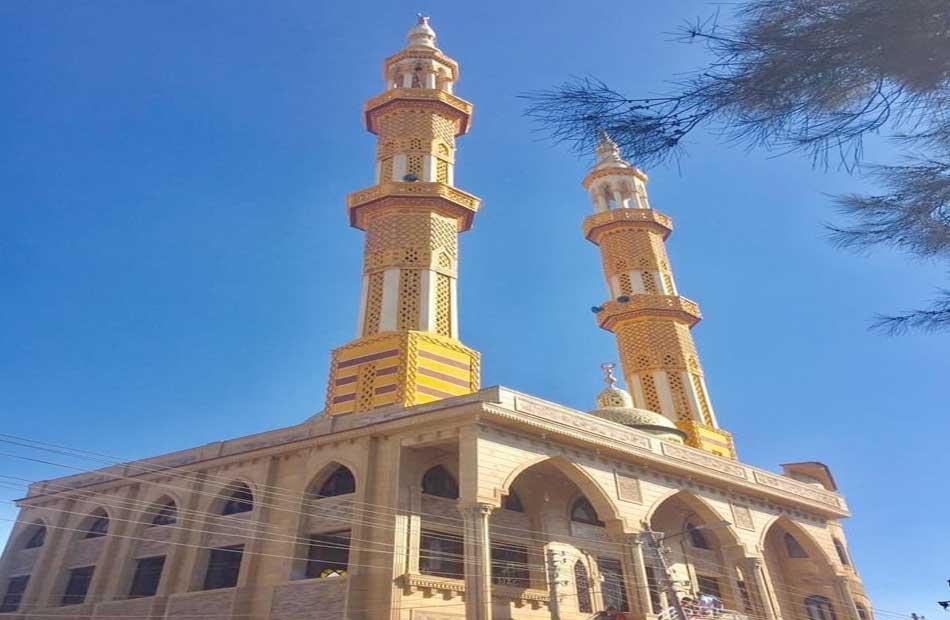 مسجد الغفور الرحيم بمركز السنبلاوين