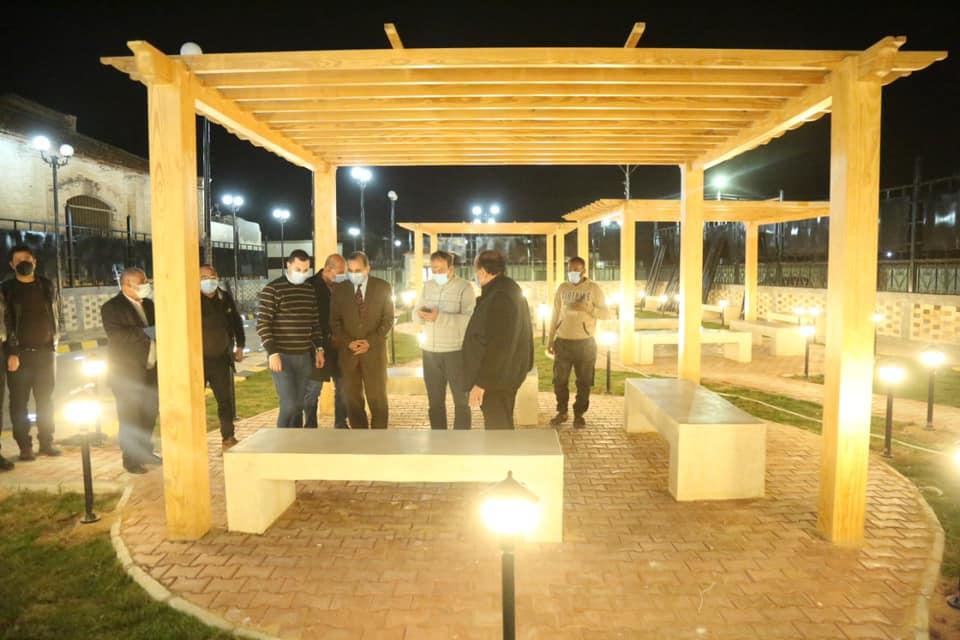 تطوير مسار العائلة المقدسة بكفر الشيخ