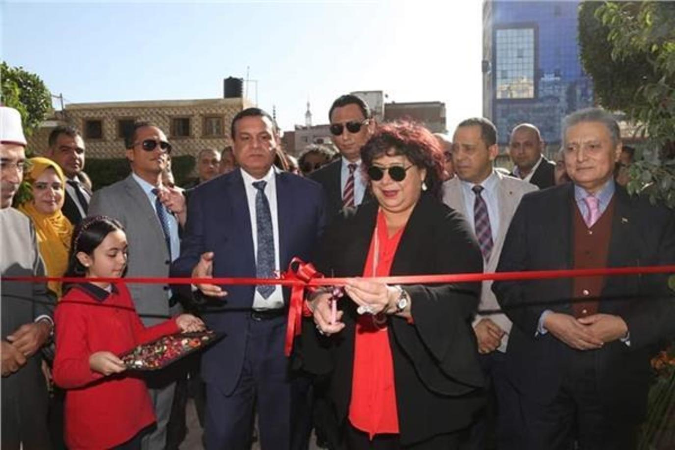 إفتتاح مكتبة مصر العامة بكفر الدوار