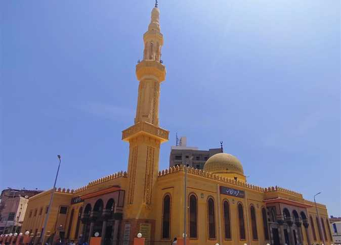 إفتتاح مسجد عمرو بن الخطاب بدمنهور