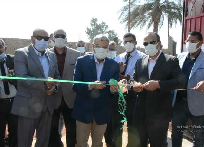 إفتتاح مدرسة السلام الإعدادية بالمنيا