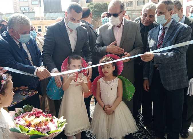 إفتتاح مدرسة قلين الثانوية التجارية بكفر الشيخ