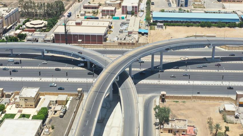 طريق القاهرة السويس الصحراوي