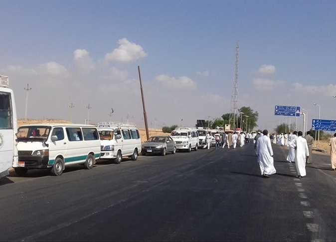 رفع كفاءة طريق أسوان - أبو سمبل