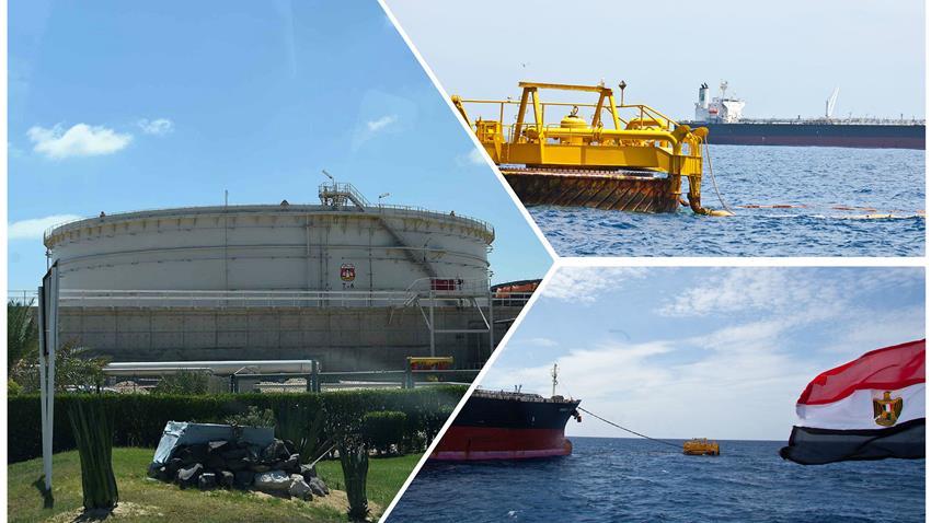 خط الشحن البحري بميناء الحمراء بالعلمين الجديدة