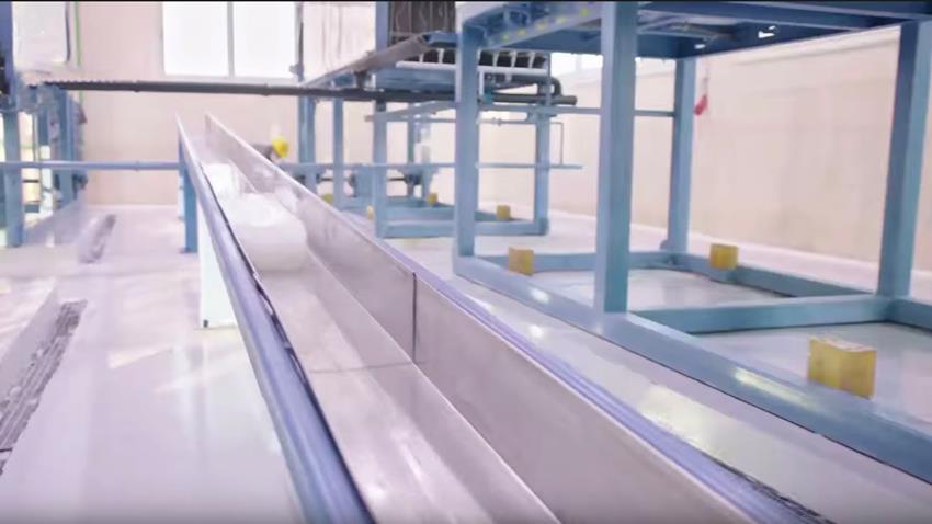 مصنع إنتاج الثلج بغليون