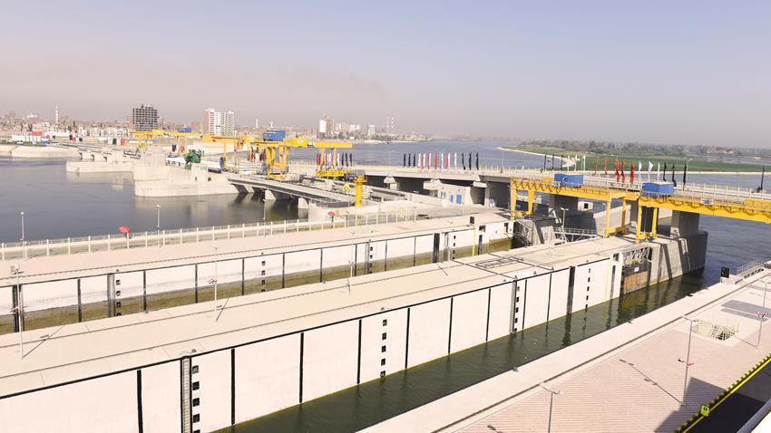 محطة توليد طاقة كهرومائية بقناطر أسيوط