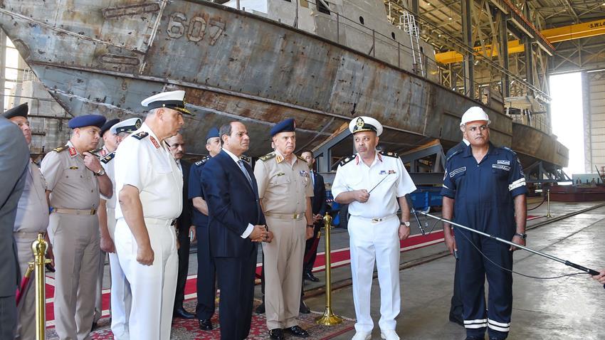 الميناء الغربي الجديد برأس التين بالإسكندرية