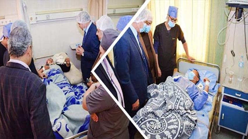 إنشاء مركز جراحات الكلى والمسالك البولية بجامعة سوهاج