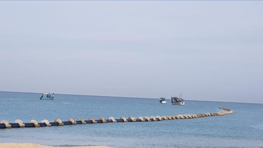محطة تحلية مياه البحر بمدينة العريش